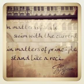 Style & Principle
